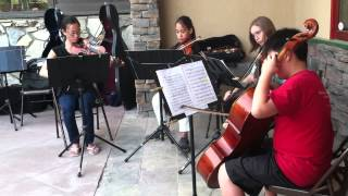 CYOSC Chamber Music Camp 2013 performs at the Big Bear Lake Gallery...