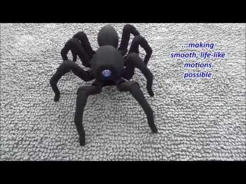 T8 the Bio Inspired 3D Printed Spider Octopod Robot