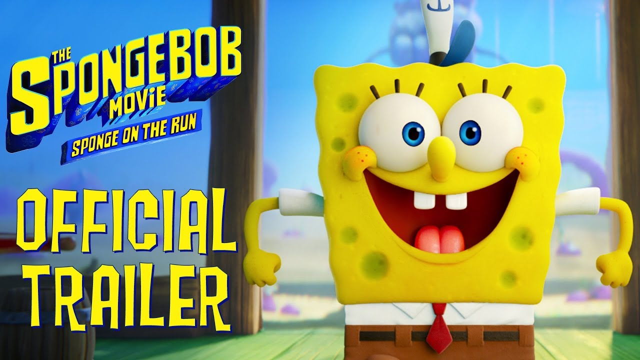 The SpongeBob Movie: Sponge on the Run (2020) - Official Trailer Watch Online - Paramount Pictures