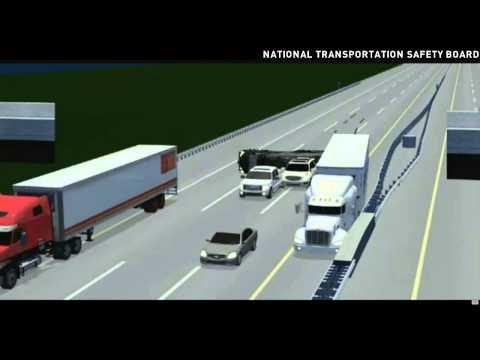 NTSB illustration shows Tracy Morgan crash