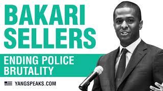 Andrew Yang talks racism in America with Bakari Sellers