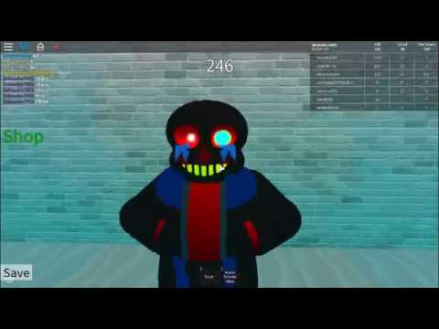 Roblox Undertale Survive The Monsters How To Get Tem Tokens Roblox 25 Undertale Survive The Monsters Error Sans Rampage Youtube