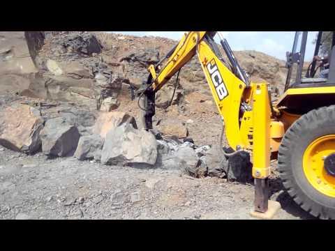 Jcb Rock Breaker HM380 Demo By Rudhir
