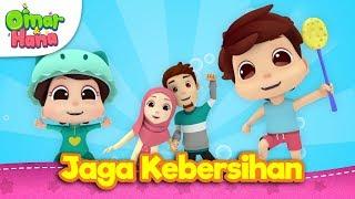 Lagu Kanak-Kanak Islam | Jaga Kebersihan | Omar & Hana