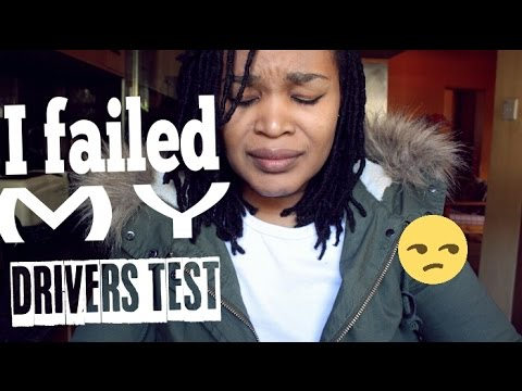 I FAILED MY DRIVERS TEST|South African Vlogger| My First Attempt