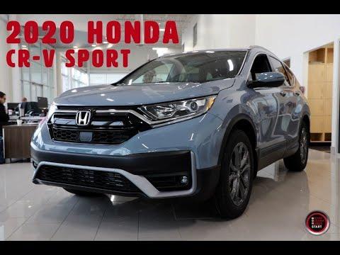 2020 Honda CR-V Sport Walk Around with Bryan Weir | WHITBY OSHAWA HONDA