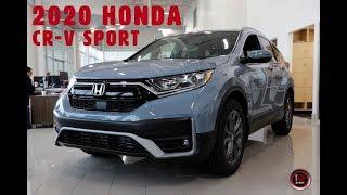 2020 Honda CR-V Sport Walk Around with Bryan Weir   WHITBY OSHAWA HONDA