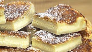 Творожный пирог с хрустящей карамельной корочкой. Рецепт от Всегда Вкусно!