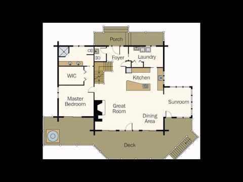 Log Home Plans | Log Home Floor Plans | Log Cabin Home Plans