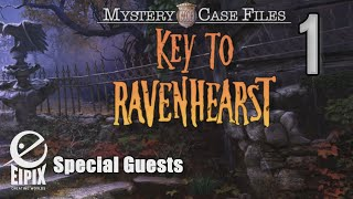 Mystery Case Files 12: Key to Ravenhearst [01] w/YourGibs - Beta Survey Demo - OPENING - Part 1