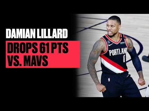 Dame Becomes First Blazers Player To Post Back-To-Back 50-Point Games