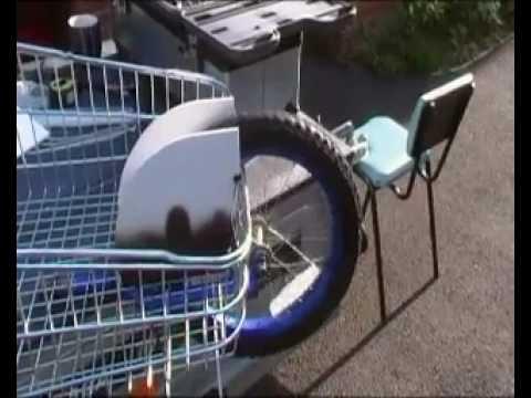 DIY Bike Trailer Extra - YouTube