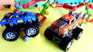 Машинки и инопланетяне. Видео для детей с игрушками