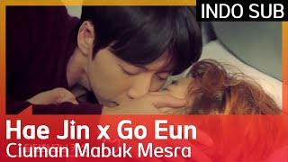 💋💋💋 Ciuman Mabuk Mesra Park Hae Jin ♥ Kim Go Eun #CheeseintheTrap 🇮🇩 INDO SUB🇮🇩
