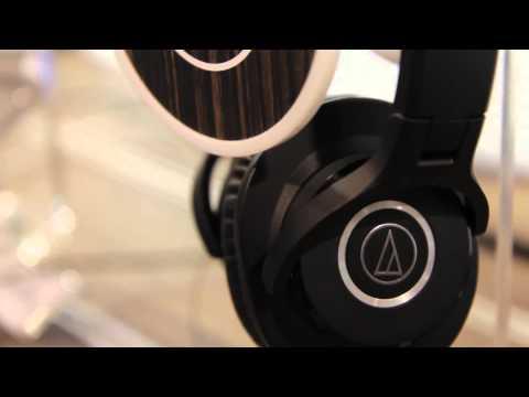 Guitar Center New From NAMM - Audio-Technica M-Series Headphones