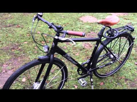 Diamant Saphir 24/7 городской велосипед/для зимы. Carbon Drive