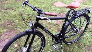 видео городской велосипед