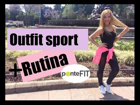 ¿Qué me pongo para hacer deporte muy chic? + rutina Ponte Fit - #mafconsejos