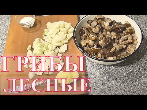 Как жарить подберезовики на сковороде с луком