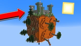 Minecraft: EU ENCONTREI UM CASTELO NESSE MUNDO CÚBICO!