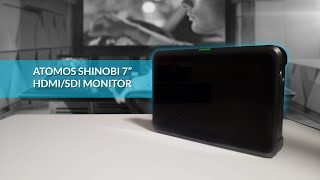 Atomos Shinobi 7 HDMI/SDI | New Best SDI Monitor
