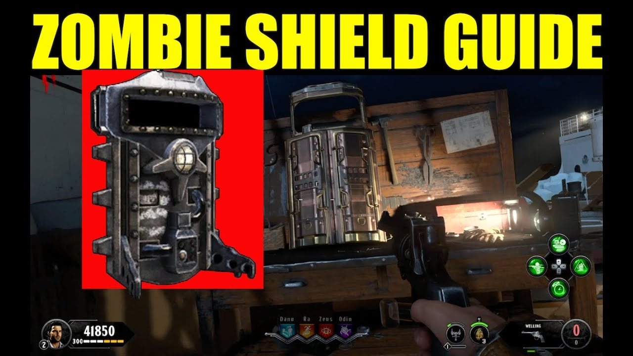 How To Build The Shield In Voyage Of Despair All Part Locations Black Ops 4 Zombies Guide Youtube