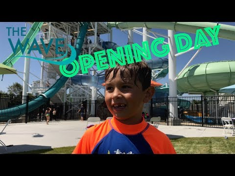 Opening Day Fun at The Dublin Wave Water Park