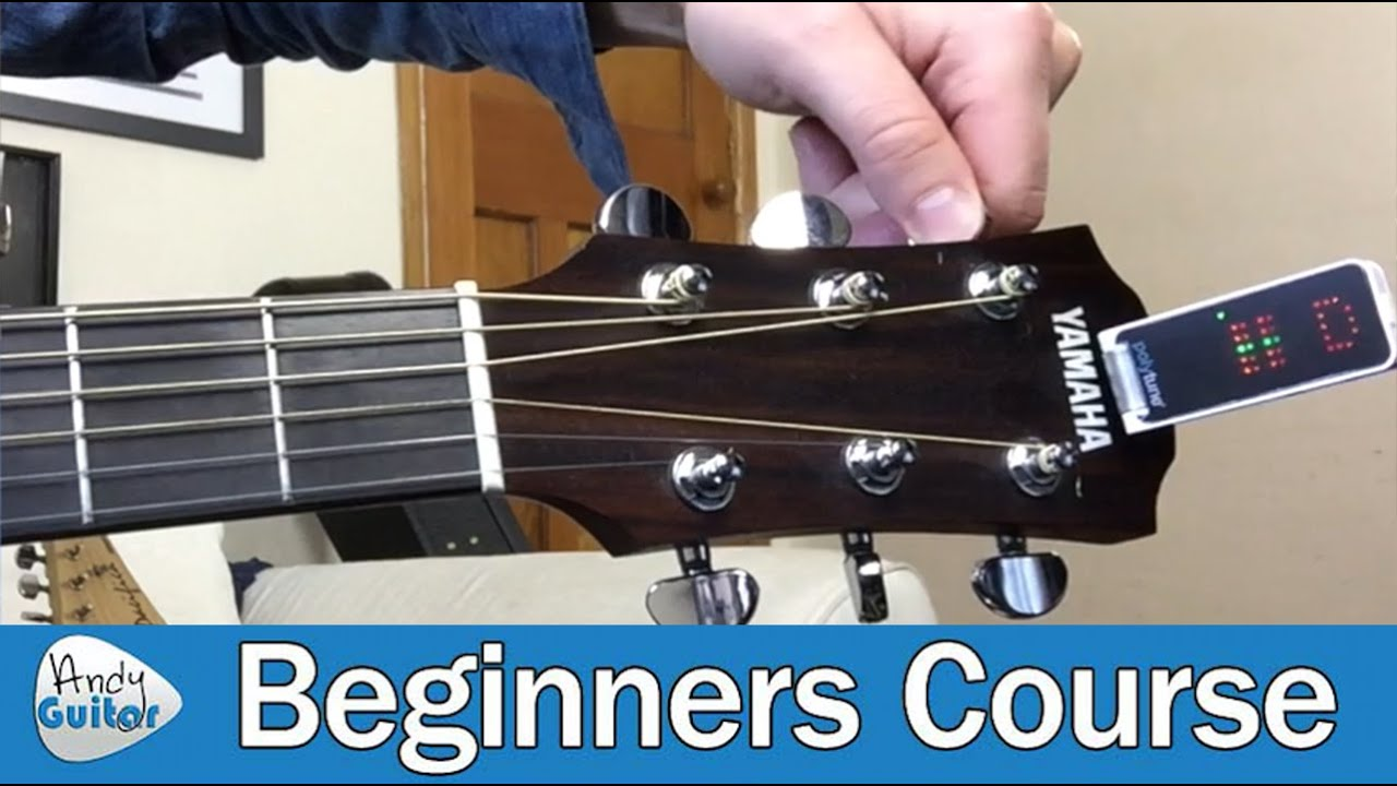 How to tune a newbie guitar 64