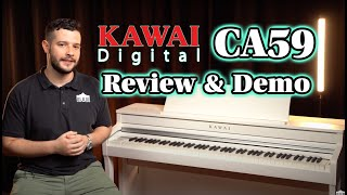 Kawai CA59 Review and Demo - Best Digital Piano in its Class?