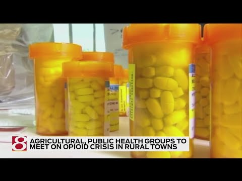 Agricultural, public health groups meeting about opioid crisis in rural, farming communities
