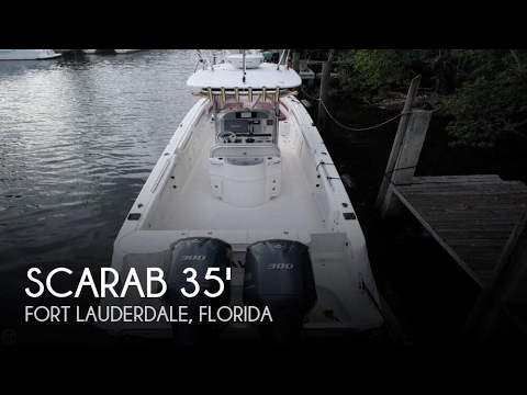 [UNAVAILABLE] Used 2008 Scarab 35 Offshore Center Console in Fort Lauderdale, Florida