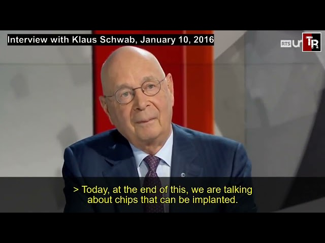 Implanted Microchip, Klaus Schwab, World Economic Forum and The Great Reset