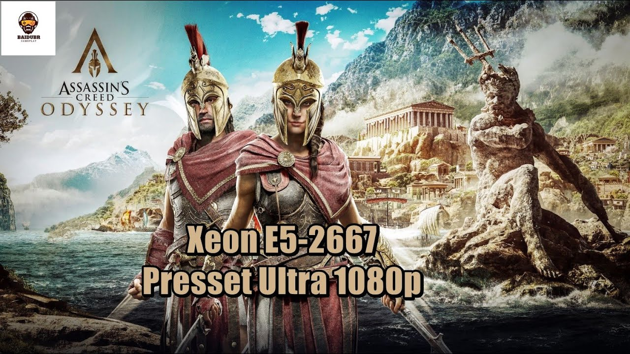 Assassin's Creed  Odyssey Teste Xeon E5-2667