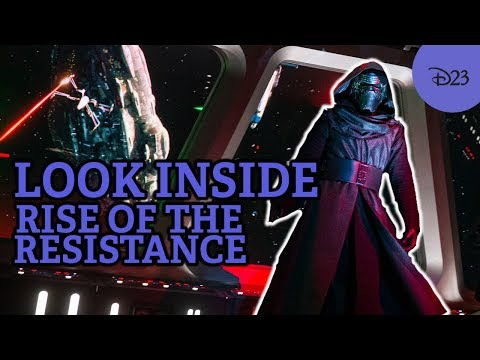 Star Wars: Rise of the Resistance — Inside Secrets