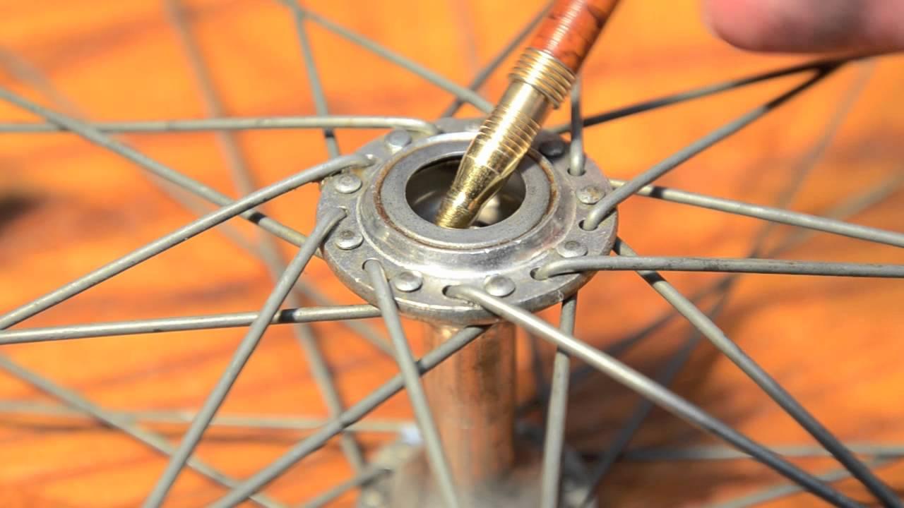 bike hub vintage Rebuild