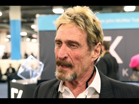 John McAfee  Bitcoin Price Prediction 2018