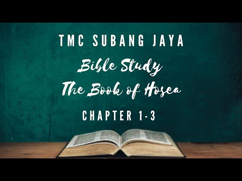 Bible Study On The Book Of Hosea // Chapter 1-3