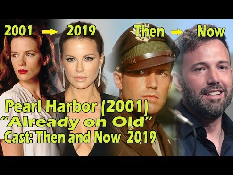 Pearl Harbor 2001 Cast Then And Now 2019 Youtube