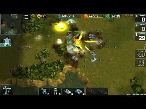 Art of war 3 heavy assults+fortress+hammer vs assults+armadillo