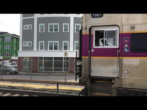 MBTA Commuter Rail inbound