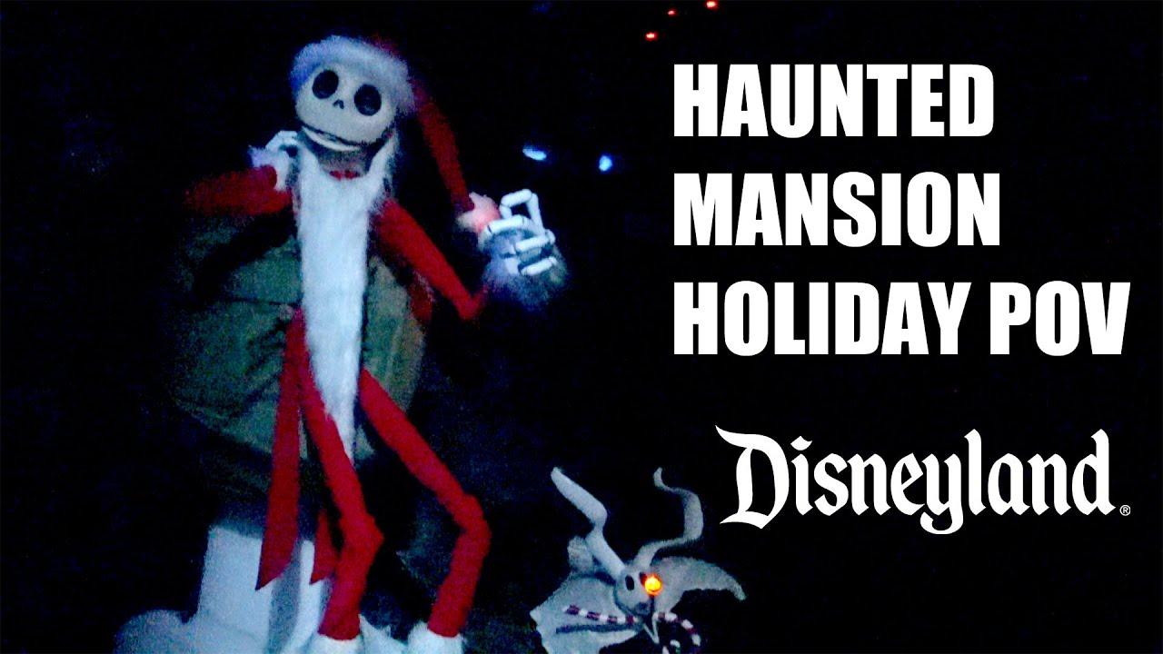 Haunted Mansion Holiday 2015 Full Ride POV 4K Ultra HD Nightmare ...