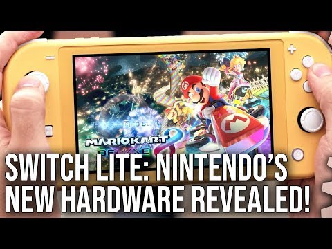Switch Lite Reveal Analysis: Nintendo's New Hardware Plans Come Into Focus