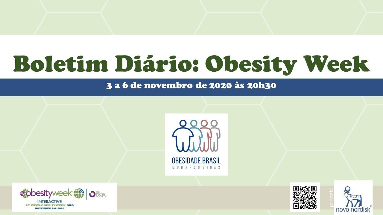 Boletim diário do Obesity Week - Dia 3