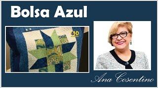 Ana Cosentino: Bolsa Azul