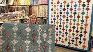 MADE MY OWN PATTERN! Donna's FREE BEADS Quilt!