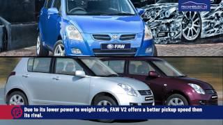 FAW V2 Vs Suzuki Swift