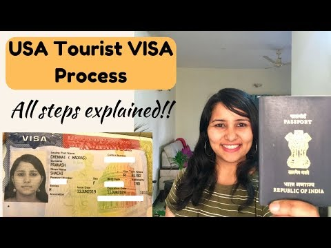 USA Tourist Visa Process For Indians 2020 | All Steps Explained