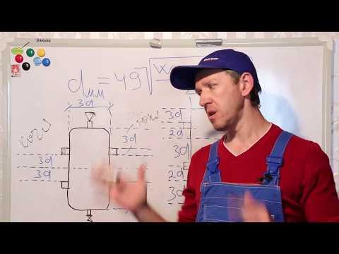 Как рассчитать гидрострелку для отопления