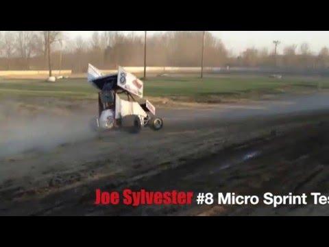 Joe Sylvester - #8 Micro Sprint Test Session