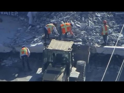 Final body recovered from rubble of collapsed Florida bridge